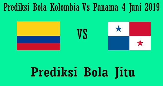 Prediksi Bola Kolombia Vs Panama 4 Juni 2019